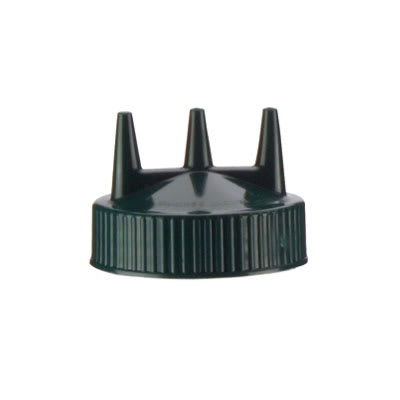 Vollrath 3300-191 Tri-Tip Replacement Cap - For 16,24,32-oz, Wide Mouth, Green