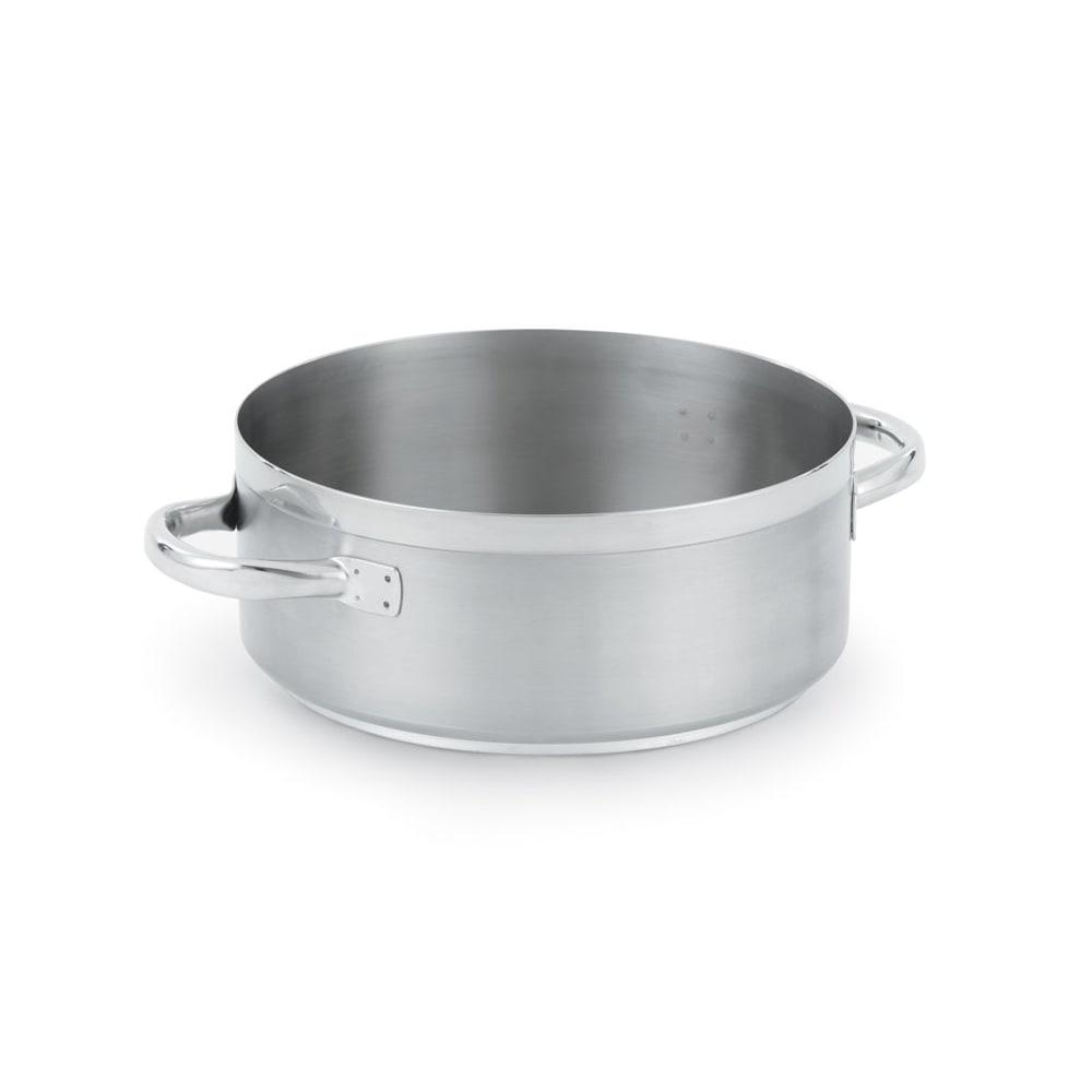 Vollrath 3307 7 qt Stainless Steel Braising Pot