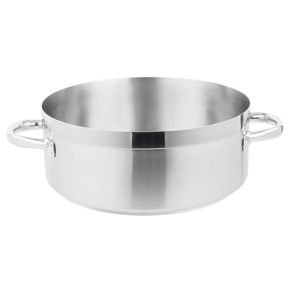 Vollrath 3315 15 qt Stainless Steel Braising Pot