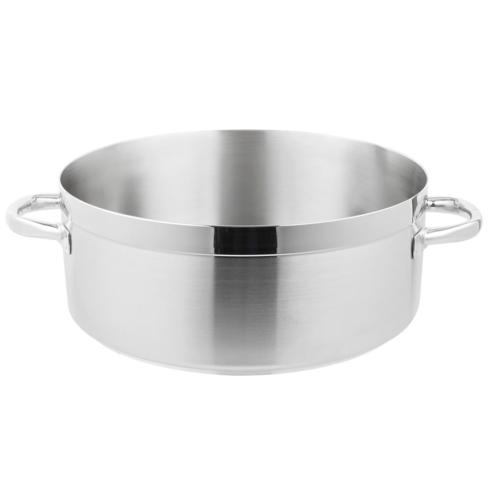 Vollrath 3320 20 qt Stainless Steel Braising Pot