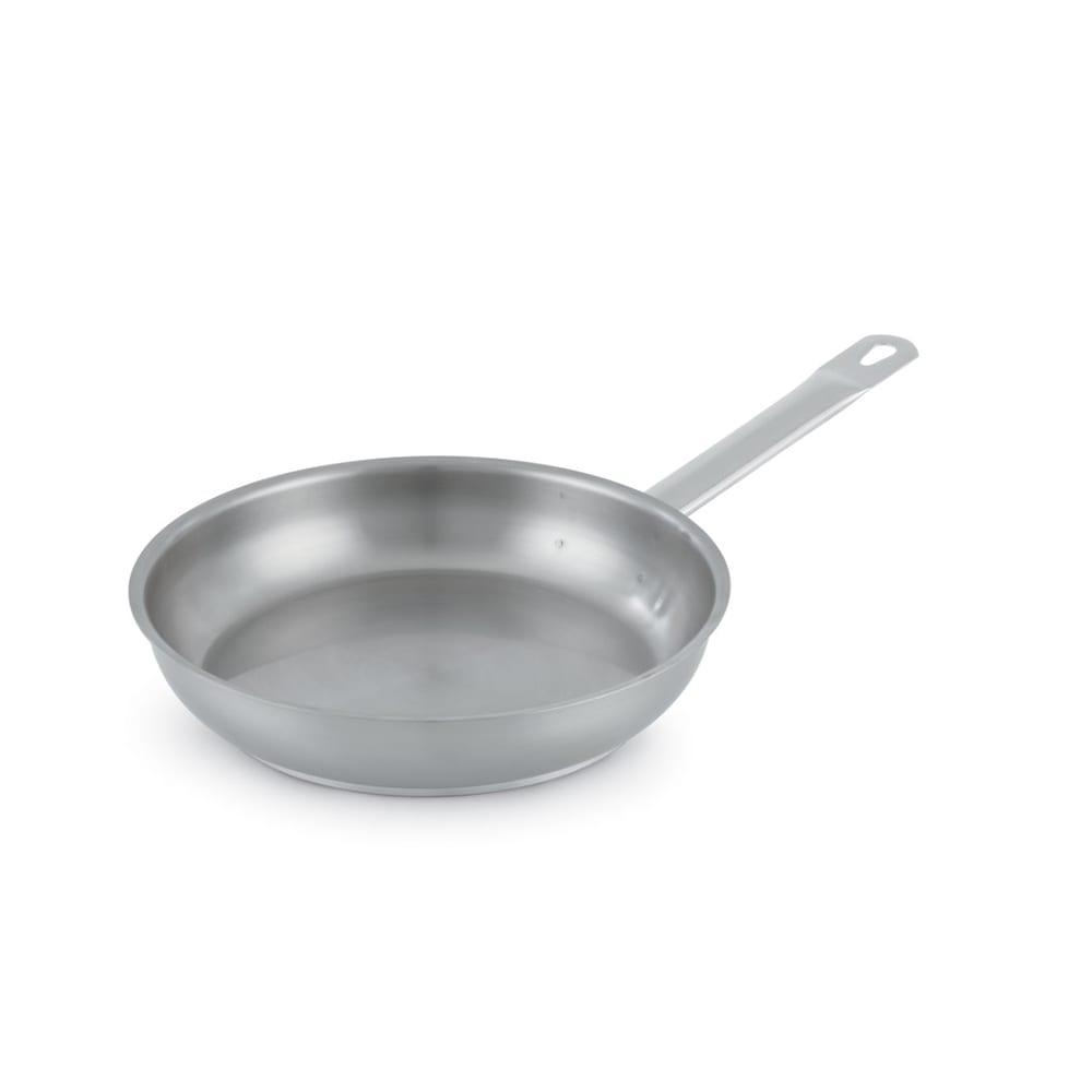"""Vollrath 3411 11"""" Stainless Steel Frying Pan w/ Hollow Metal Handle"""