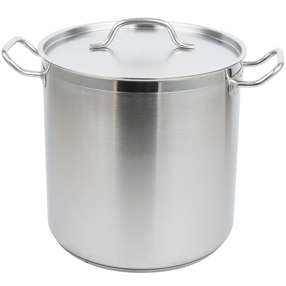 Vollrath 3504-POT 18-qt Stainless Steel Stock Pot - Induction Ready