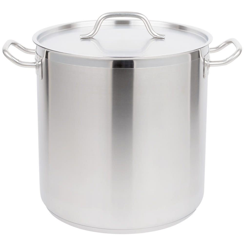 Vollrath 3506 27 qt Stainless Steel Stock Pot - Induction Ready