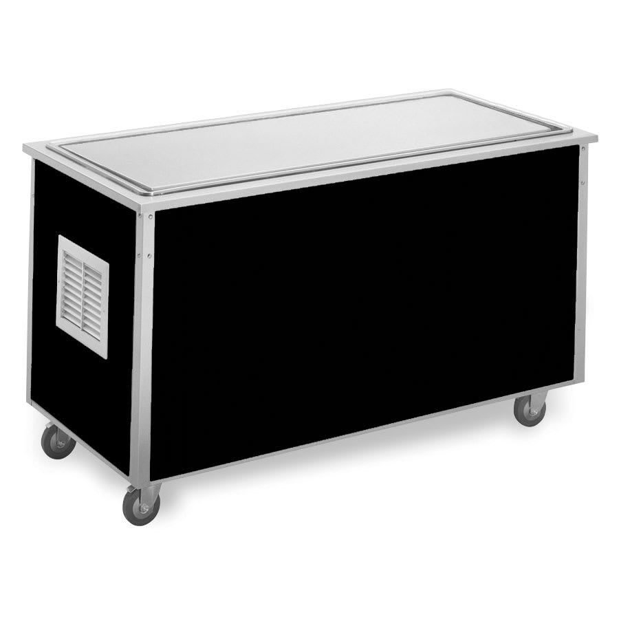 "Vollrath 36114 74"" Frost Top Serving Station - 20x62"" Stainless Surface, 30""H, Drain"