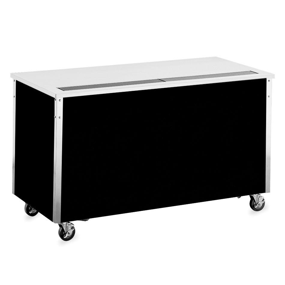 "Vollrath 36125 46"" Beverage Counter - 30x46x28"", Enclosed Base, Stainless Top"