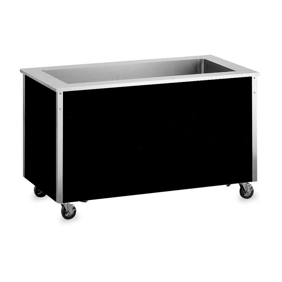 "Vollrath 36165 Refrigerated Cold Food Bar - 4 Full Size Pan 8"" Deep Wells, 30x60x28, Stainless"