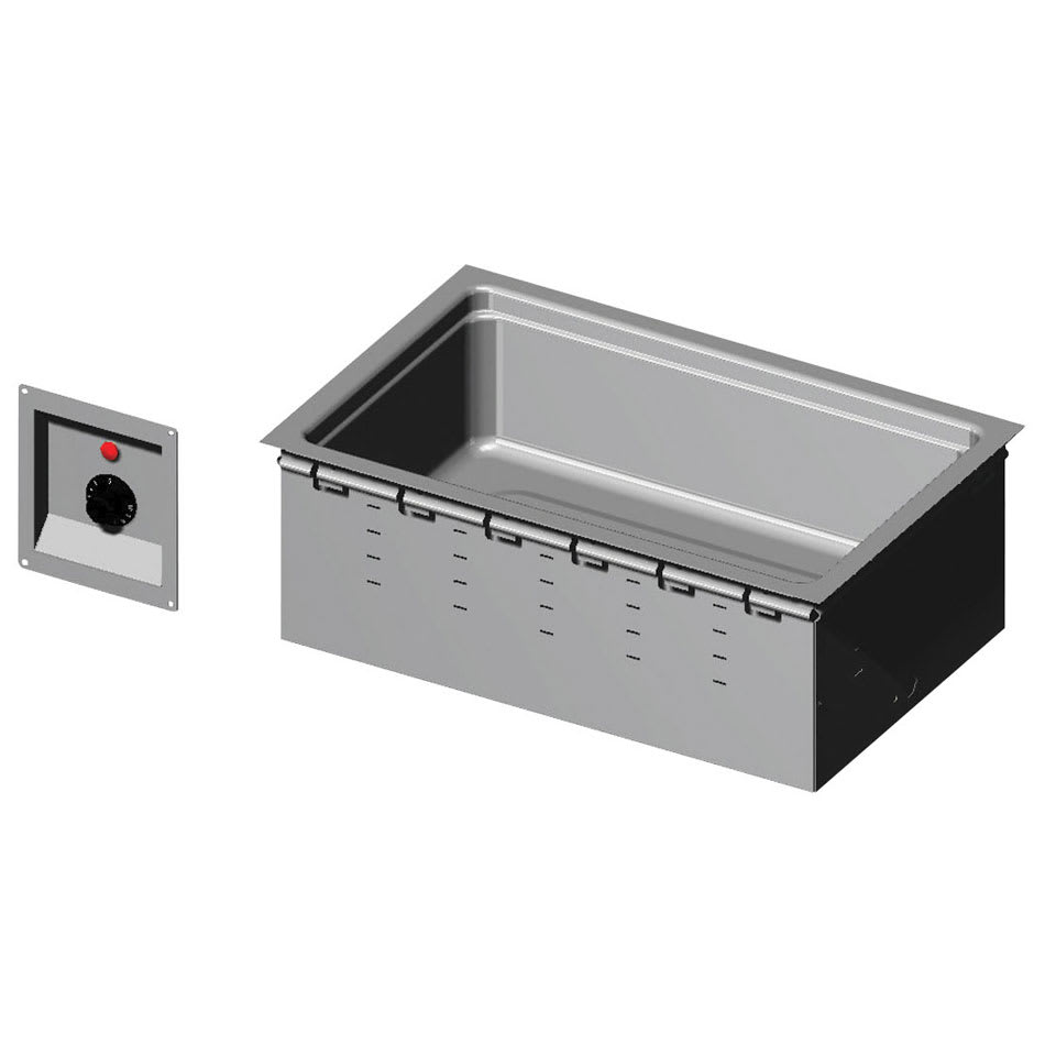 Vollrath 36359 Drop-In Hot Food Well w/ (1) Full Size Pan Capacity, 208 240v/1ph
