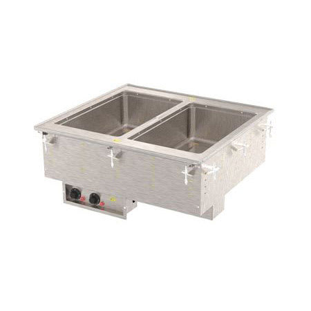 Vollrath 36400 Drop-In Hot Food Well w/ (2) Full Size Pan Capacity, 208v/1ph