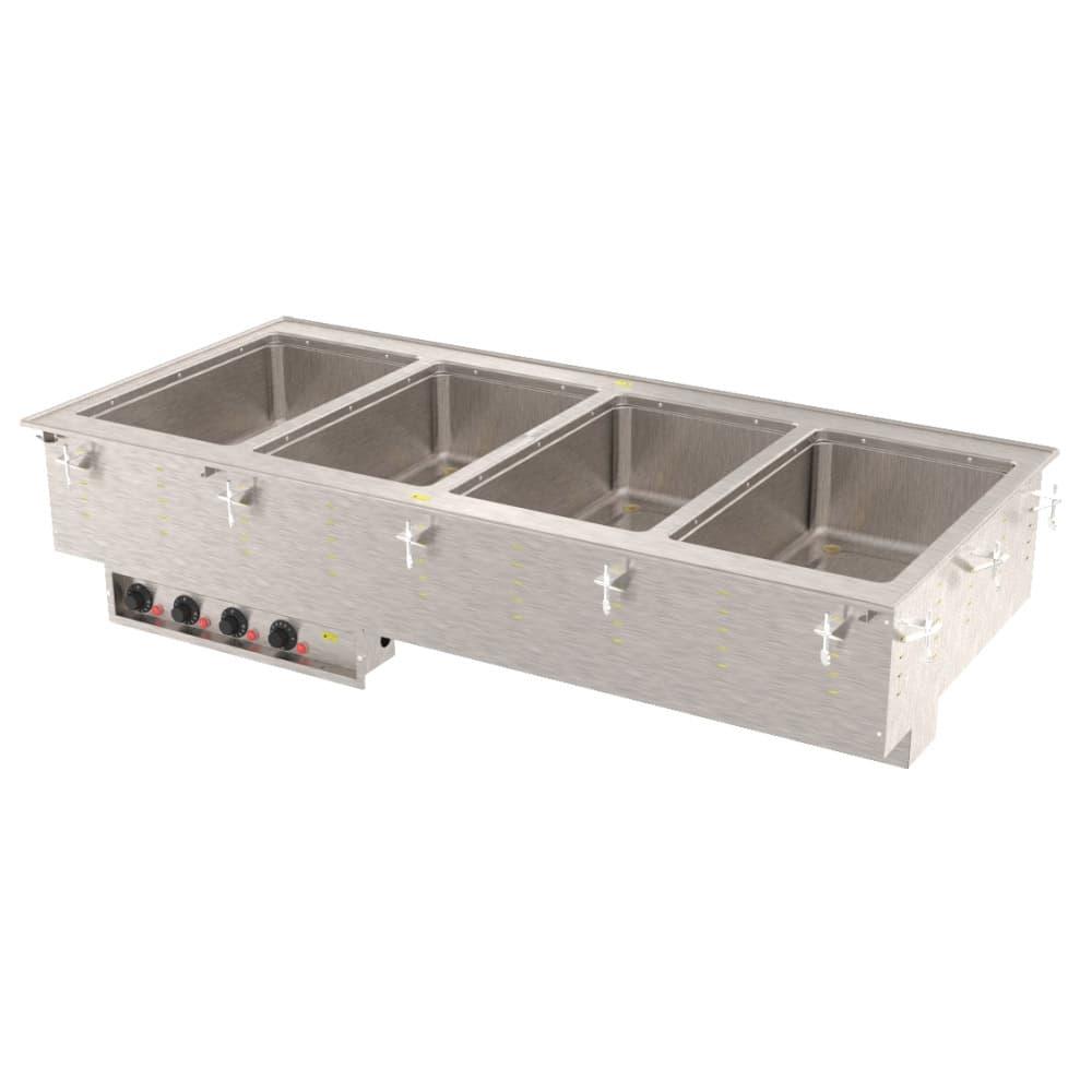 Vollrath 3640680 4-Well Modular Drop-In - Thermostat, Manifold Drain, Auto Fill, 625W, 120v