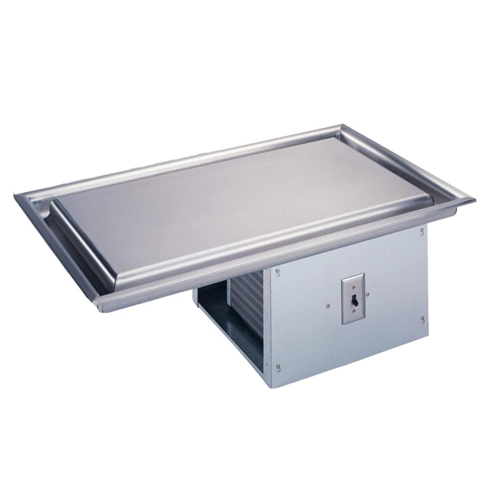 """Vollrath 36419 28.25"""" Recessed Frost Top w/ Built In Compressor, 120v"""