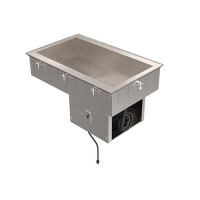 "Vollrath 36441 29"" Drop-In Refrigerator w/ (2) Pan Capacity, Cold Wall Cooled , 120v"