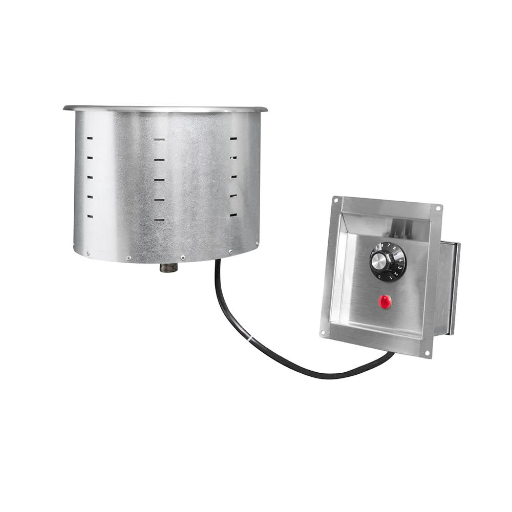 Vollrath 3646210 7.25 qt Drop-In Soup Warmer w/ Thermostatic Controls, 120v