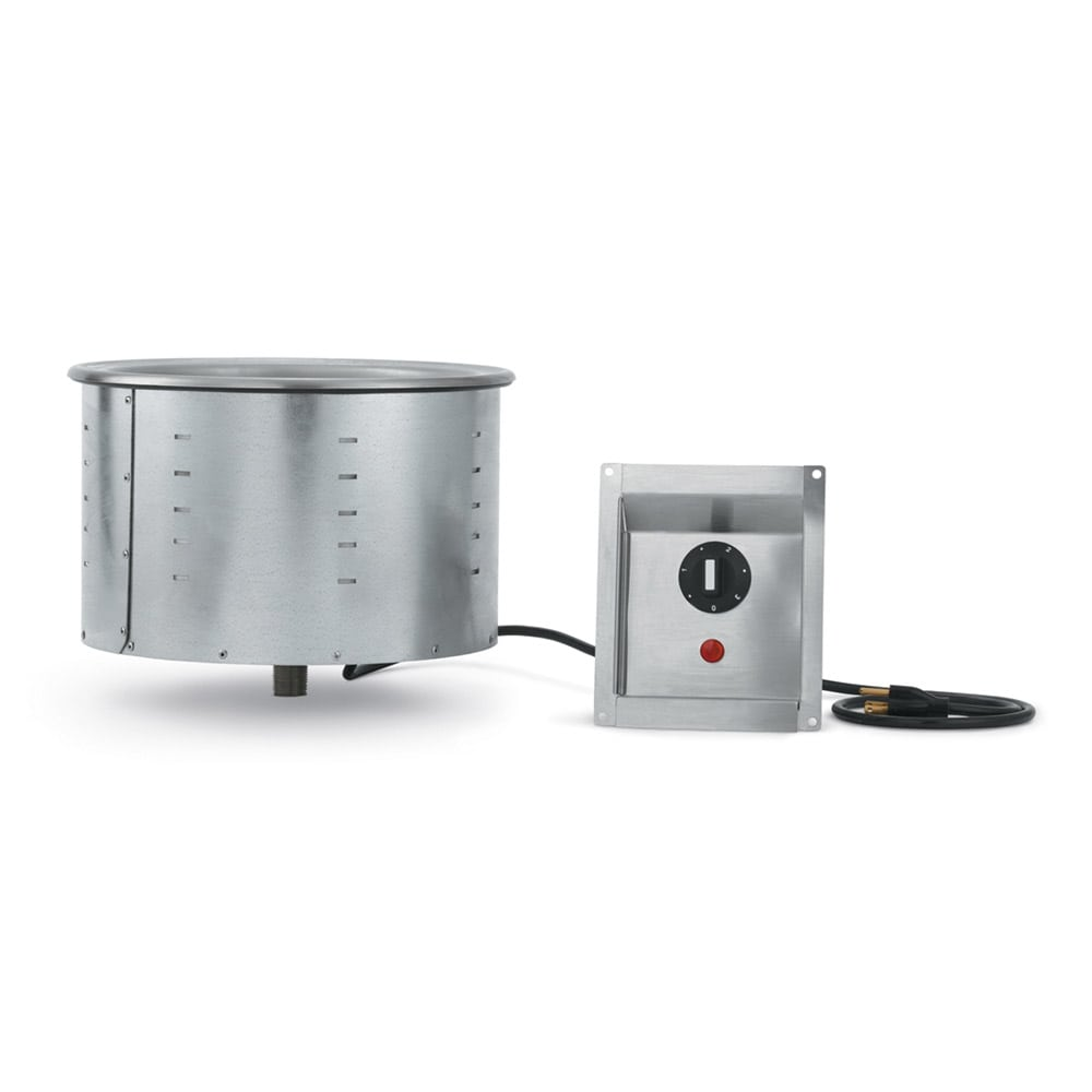 Vollrath 36463 7.25 qt Drop-In Soup Warmer w/ Infinite Controls, 120v