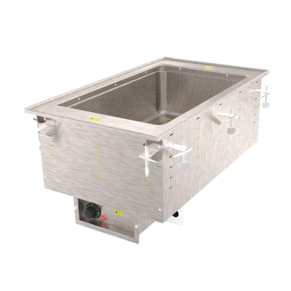 Vollrath 36466 Drop-In Hot Food Well w/ (1) Full Size Pan Capacity, 120v