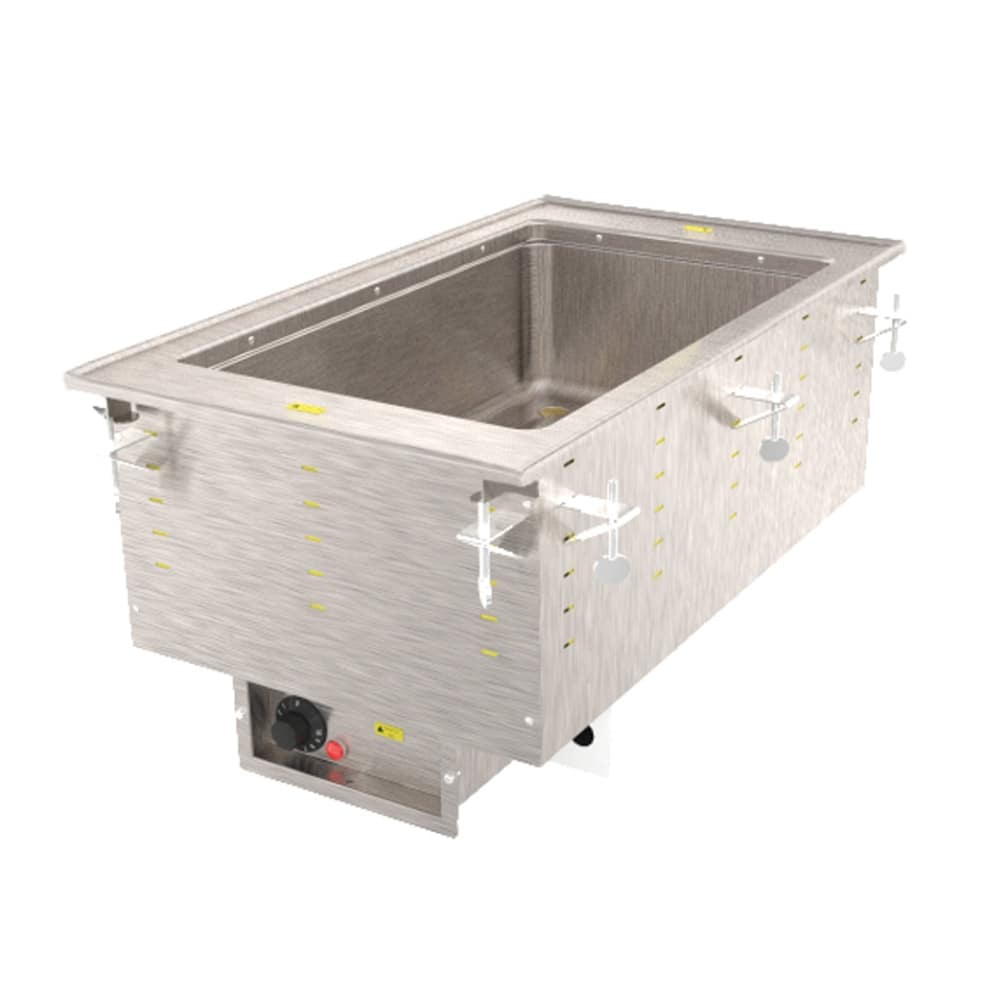Vollrath 3646701 Drop-In Hot Food Well w/ (1) Full Size Pan Capacity, 208-240v/1ph