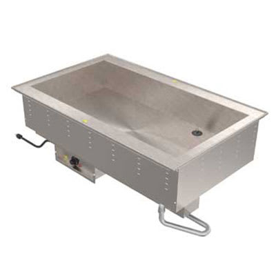 Vollrath 36501 Drop-In Hot Food Well w/ (2) Full Size Pan Capacity, 208v/1ph