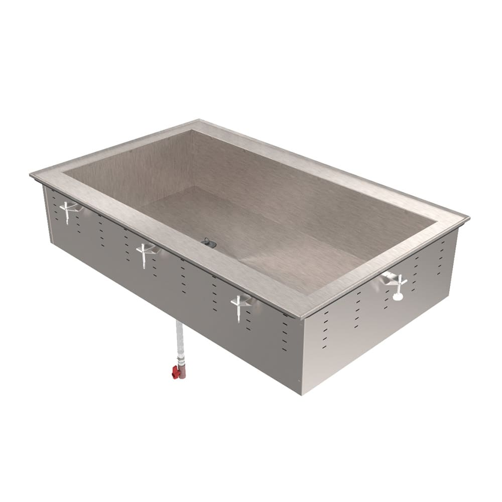 Vollrath 36502 Drop-In Hot Food Well w/ (3) Full Size Pan Capacity, 120v