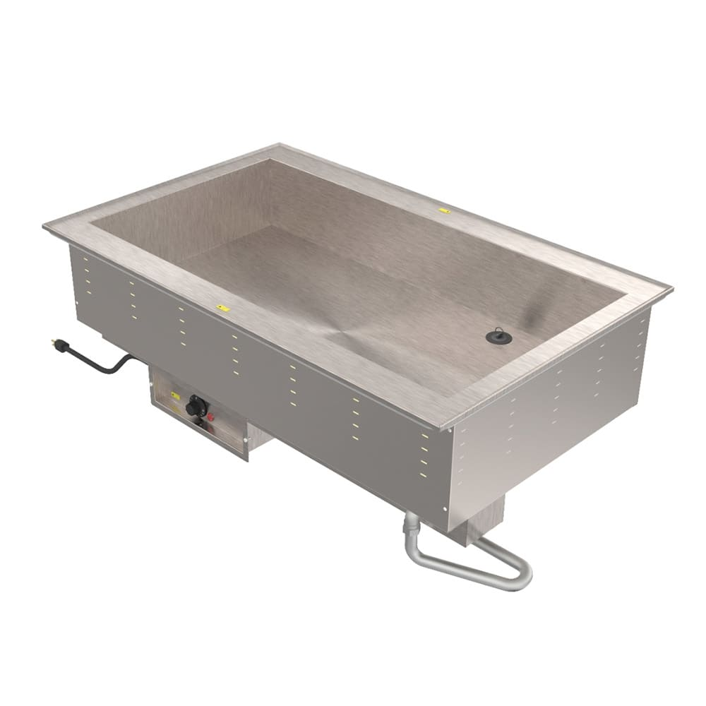 Vollrath 36504 Drop-In Hot Food Well w/ (4) Full Size Pan Capacity, 240v/1ph