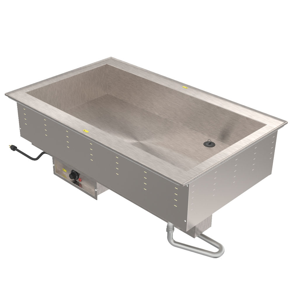 Vollrath 36505208 Drop-In Hot Food Well w/ (5) Full Size Pan Capacity, 208v/1ph