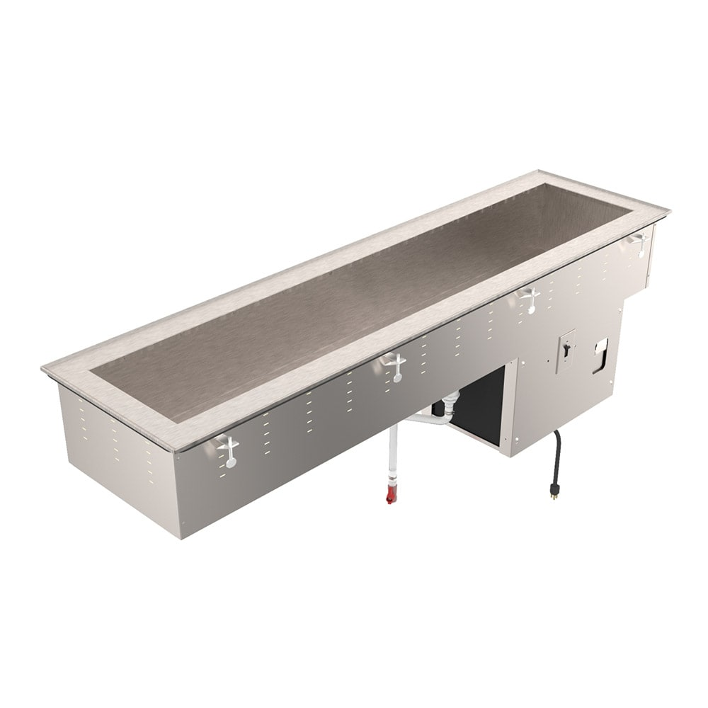 """Vollrath 36652 46"""" Drop-In Refrigerator w/ (2) Pan Capacity, Cold Wall Cooled, 120v"""