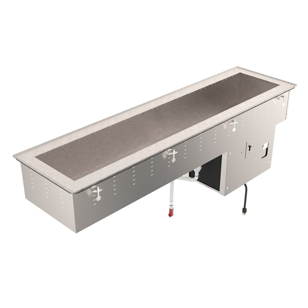 Vollrath 36658 Drop-In Cold Food Well w/ (4) Full Size Pan Capacity, 120v