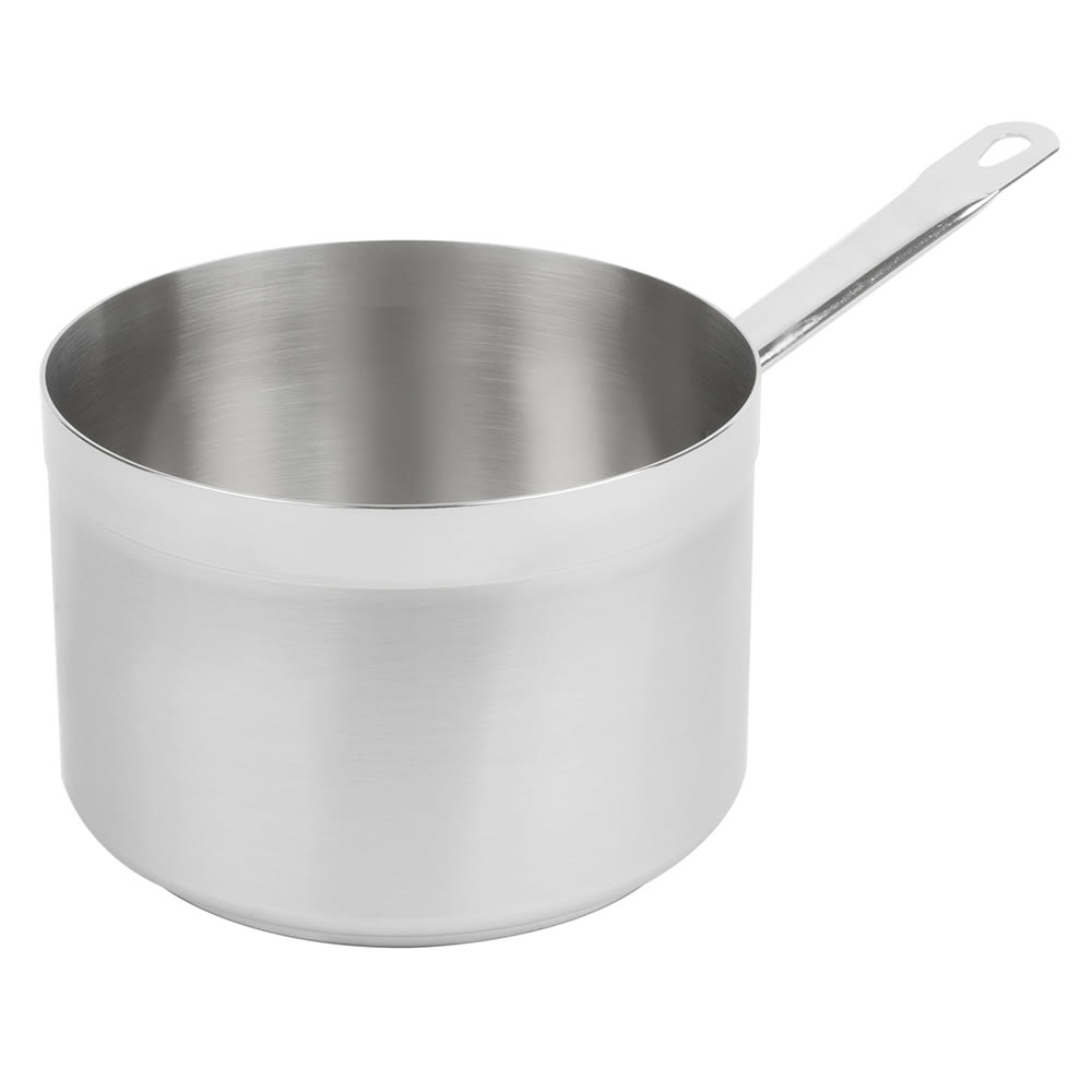 Vollrath 3704 4.25 qt Stainless Steel Saucepan w/ Hollow Metal Handle