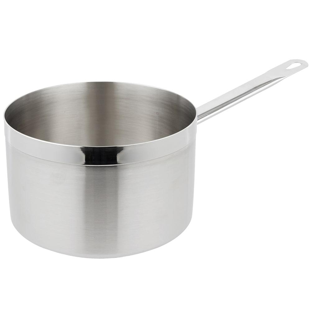 Vollrath 3707 7-qt Stainless Steel Saucepan w/ Hollow Metal Handle