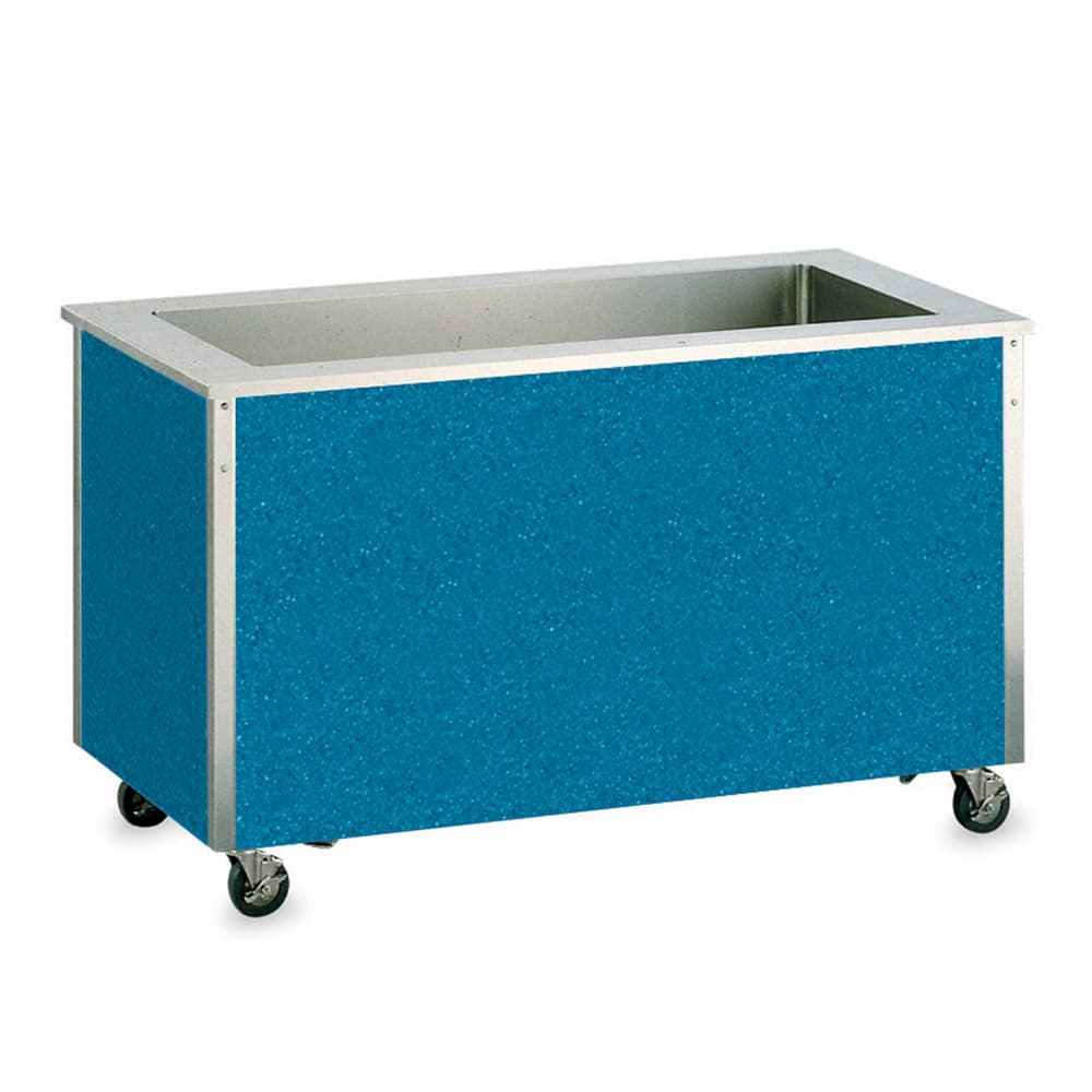 "Vollrath 37070 5 Pan Cold Food Station- 8"" Deep Wells, Non-Refrigerated, 34x74x28"""