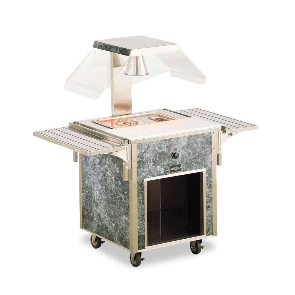 Vollrath 37080 Entree Cart - ADA, Open Base, Stainless Top, 34x28x28