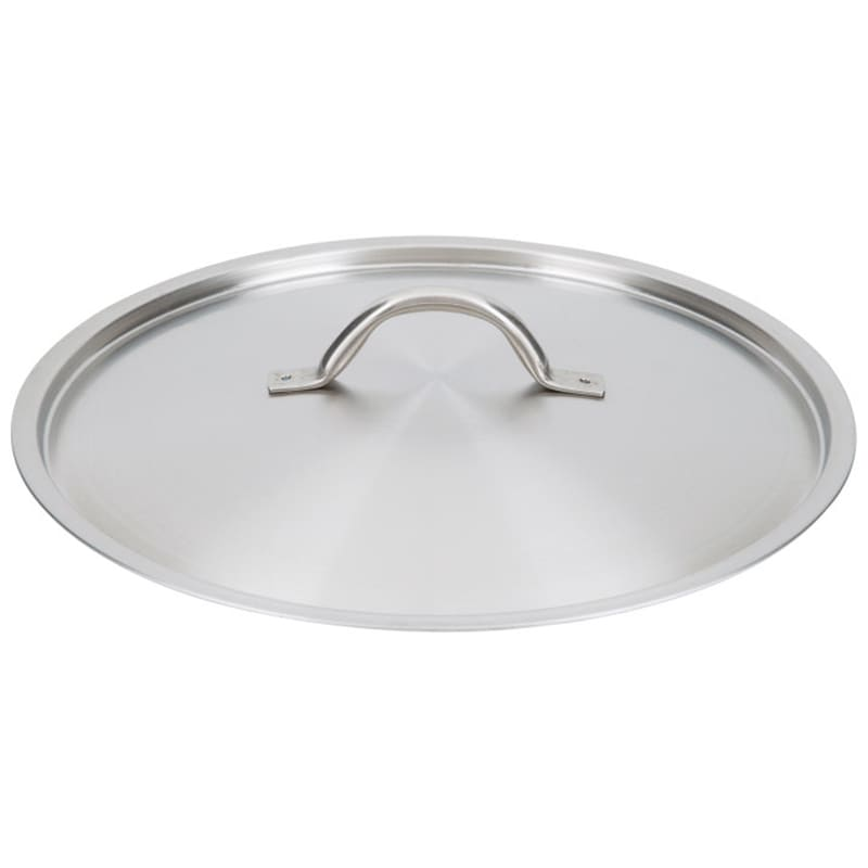 "Vollrath 3711C 11-1/2"" Saucepan Cover - Flat, Stainless"