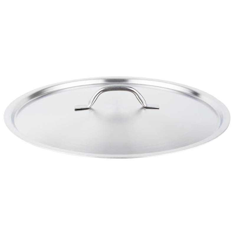 """Vollrath 3715C 15 3/4"""" Saucepan Cover - Flat, Stainless"""