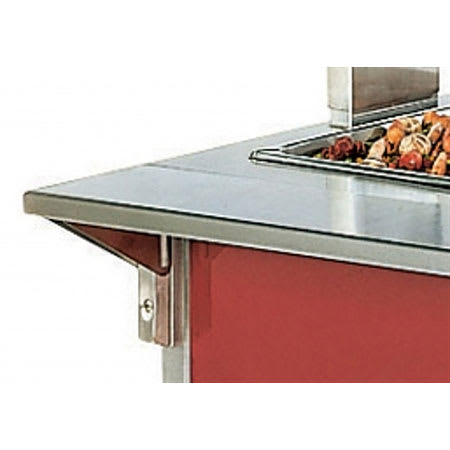 """Vollrath 37514-2 74"""" Plate Rest - 7"""" Overall Width"""