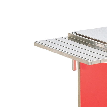 "Vollrath 3752450-2-C 74"" Customer Side Tray Slide - Lift-Off Bracket, 12"" Overall Width"