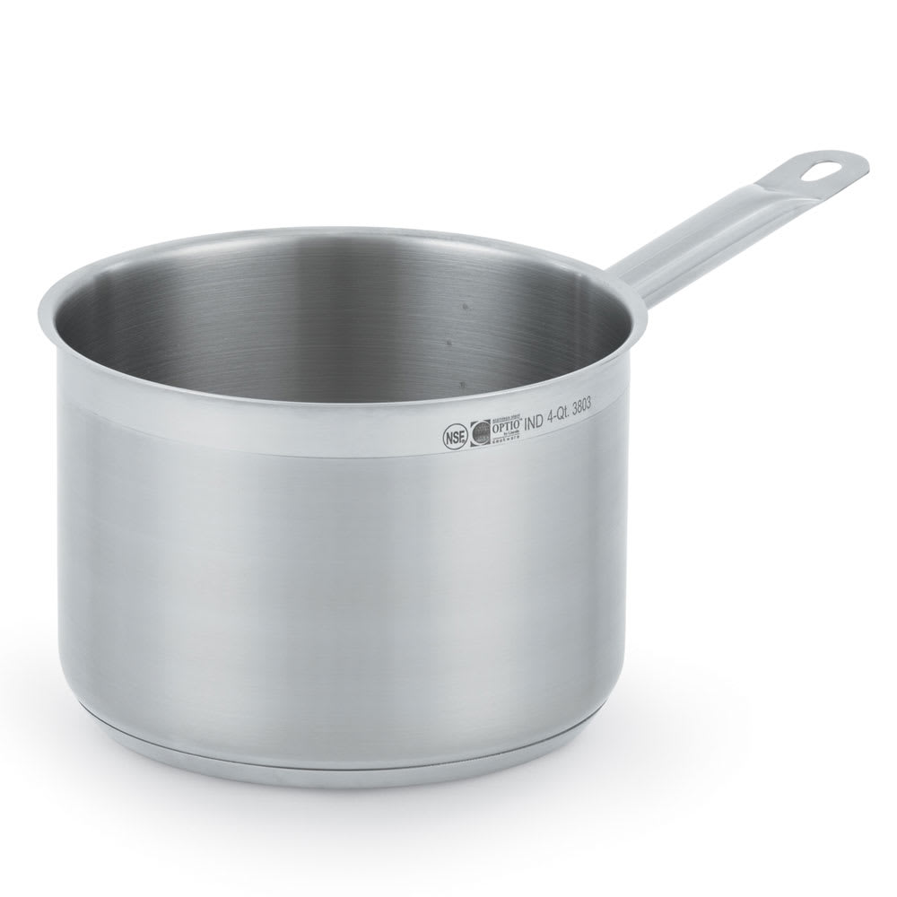 Vollrath 3802 2.75 qt Stainless Steel Saucepan w/ Hollow Metal Handle