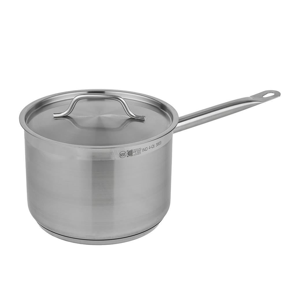 Vollrath 3803 4-qt Stainless Steel Saucepan w/ Hollow Metal Handle
