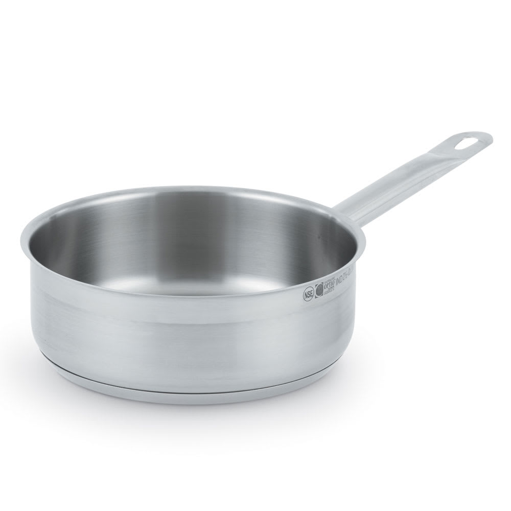 "Vollrath 3804 9 1/2"" Saute Pan - Induction Ready, Stainless"