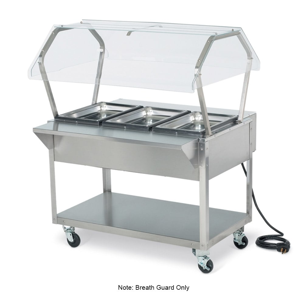 "Vollrath 38062 32"" Buffet Breath Guard - 32x35-3/8x23-1/2"""
