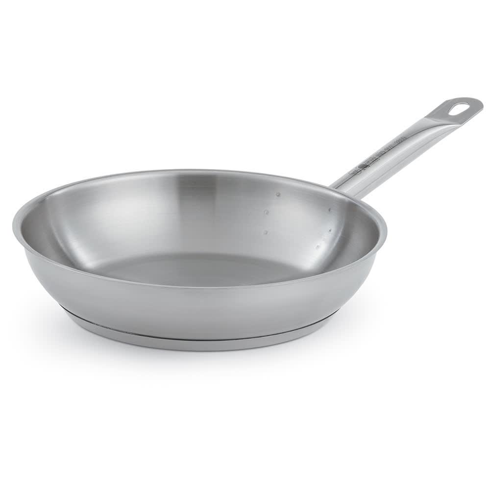 """Vollrath 3809 9.5"""" Stainless Steel Frying Pan w/ Hollow Metal Handle"""