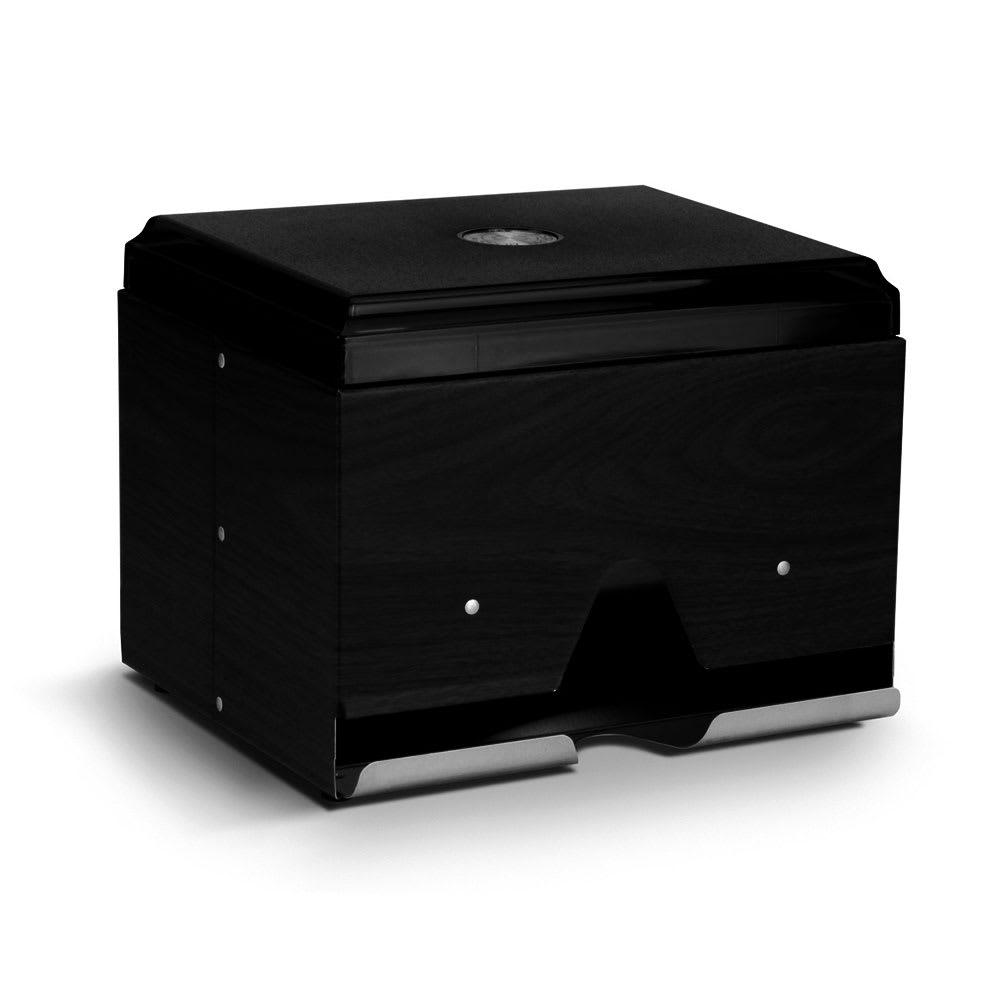 "Vollrath 3810-06 Double-Side Straw Dispenser - 400 Capacity, 9x7-1/2x7"", Black"