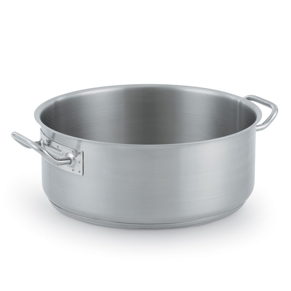 Vollrath 3814 14 qt Stainless Steel Braising Pot