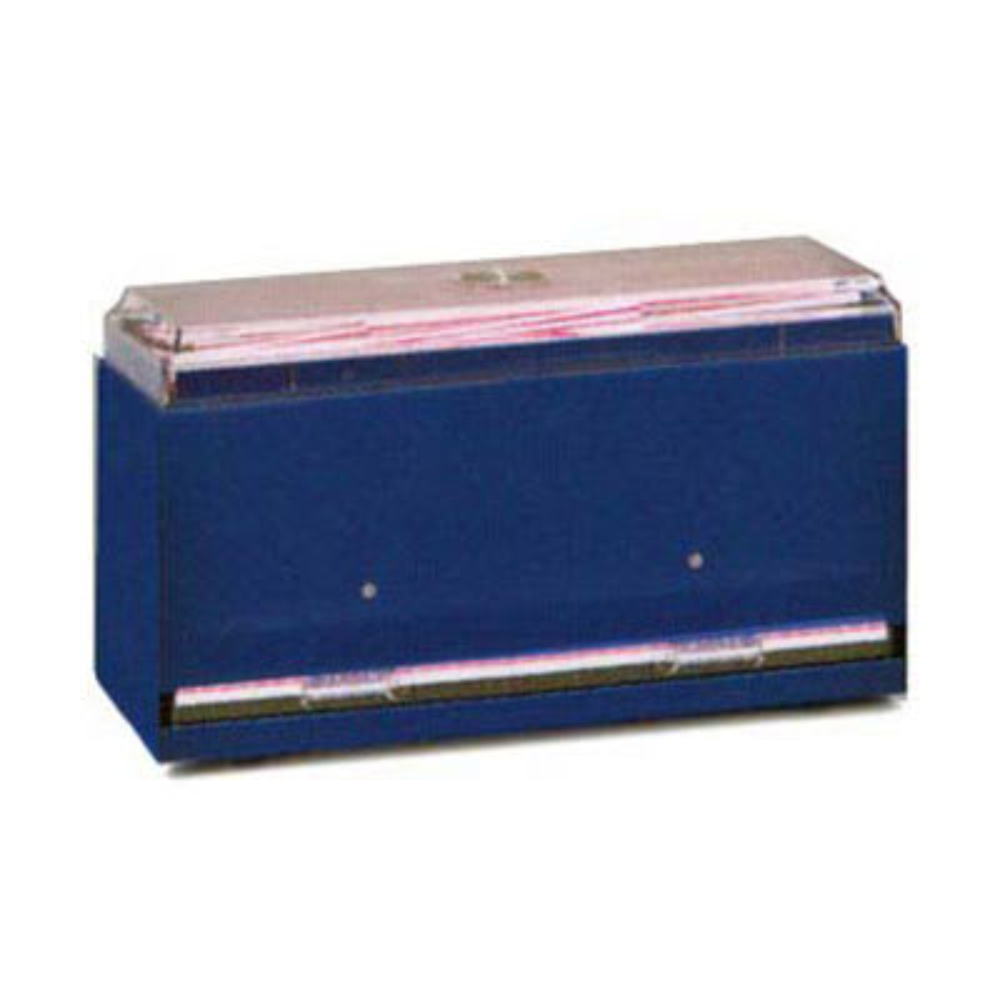"Vollrath 3821-06 Single-Side Straw Dispenser - Giant Capacity, 12 1/2x5 1/2x7"" Black"