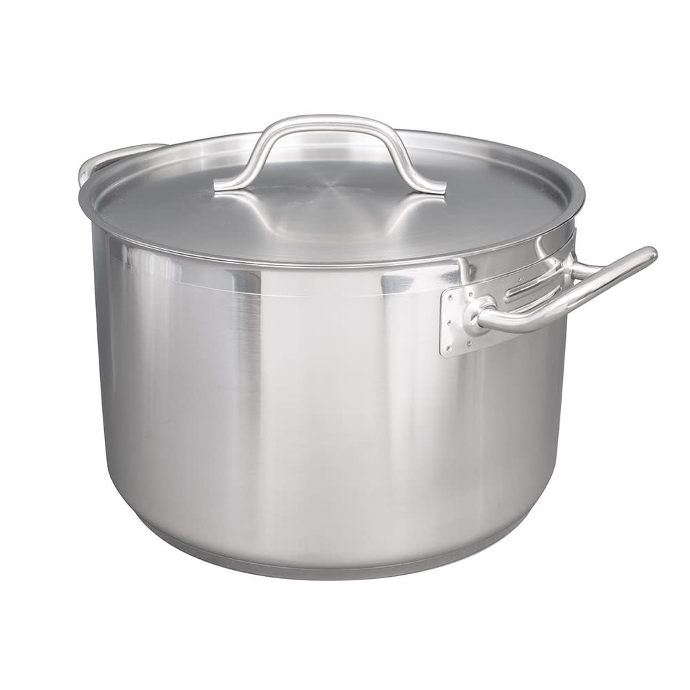 "Vollrath 3904 16 qt Stainless Sauce Pot - 12.5"" x 8"""
