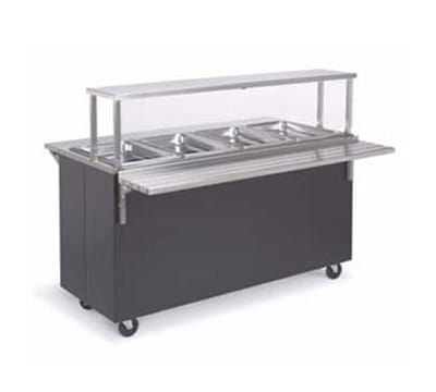 """Vollrath 39946 46"""" Tray Slide - Fold-Down Mounting, Stainless"""