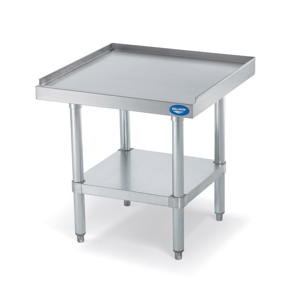 "Vollrath 40742 48"" x 24"" Stationary Equipment Stand for General Use, Undershelf"
