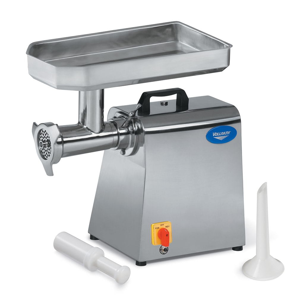 Swell Vollrath 40744 Bench Style Meat Grinder 528 Lb Capacity 22 Hub Stainless 110V Pdpeps Interior Chair Design Pdpepsorg