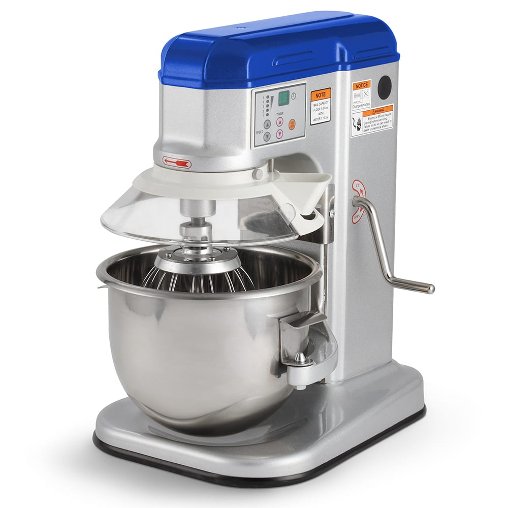 Vollrath 40755 7-qt Countertop Mixer with Guard - 5-Speed, Digital, 1/3HP 110v