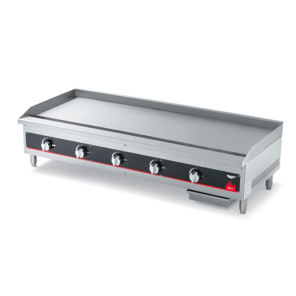 "Vollrath 40839 48"" Gas Griddle - Manual, 3/4"" Steel Plate"