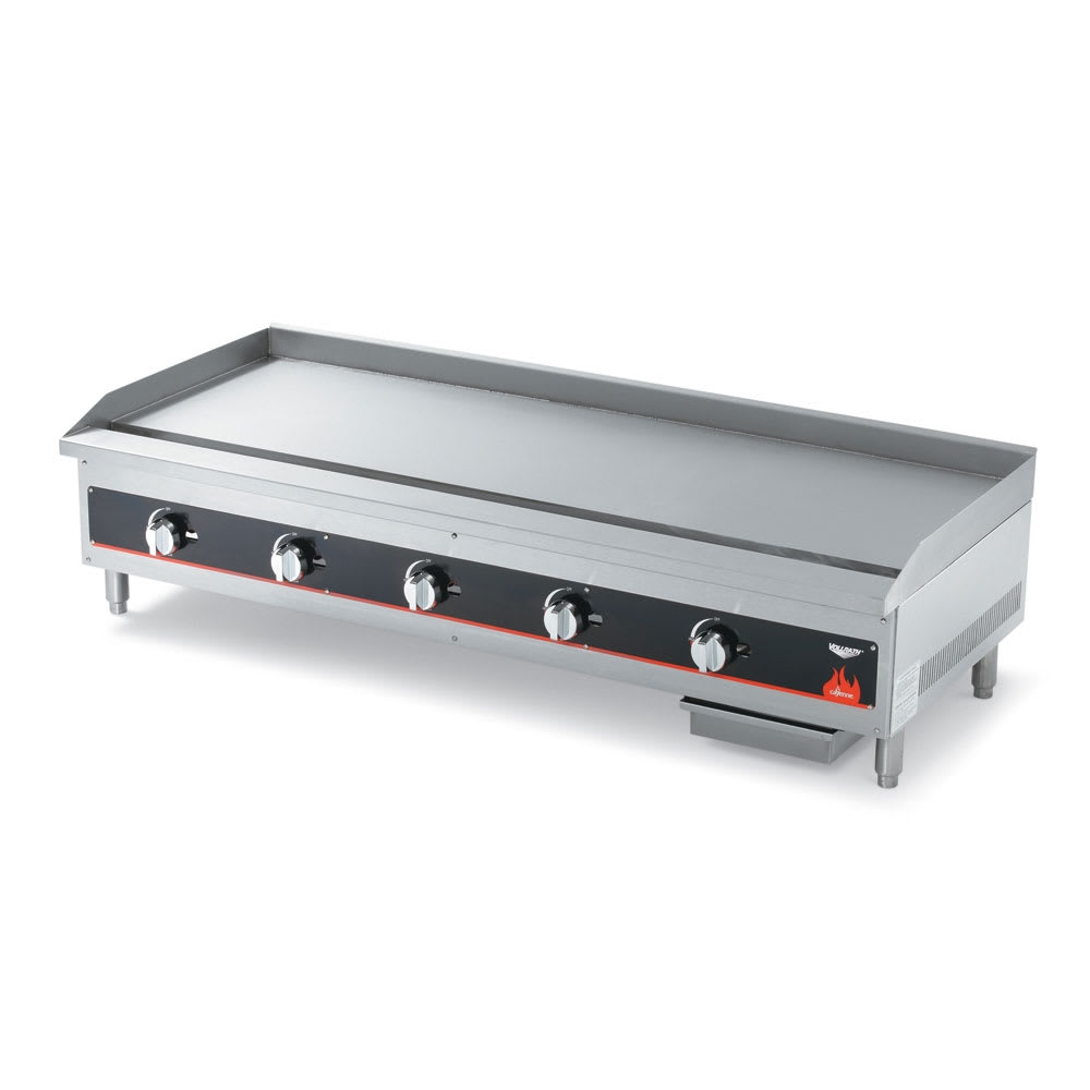 "Vollrath 40840 60"" Gas Griddle - Manual, 3/4"" Steel Plate, NG"