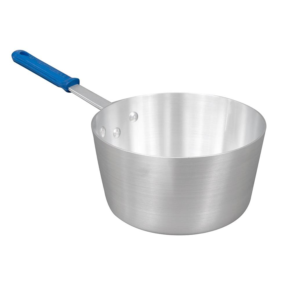 Vollrath 434412 4.5-qt Aluminum Saucepan w/ Solid Silicone Handle
