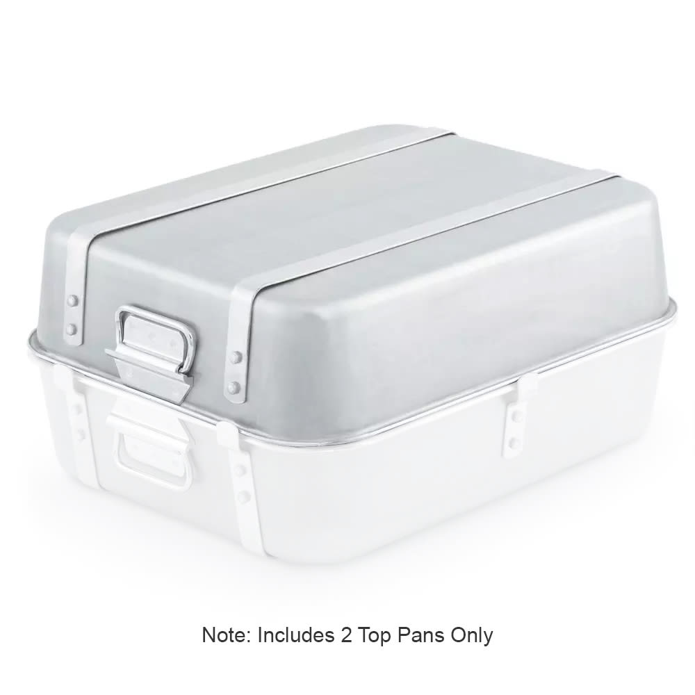 "Vollrath 4482 Roaster Pan w/ Loop Handles - 16x20x4-1/2"", Aluminum"